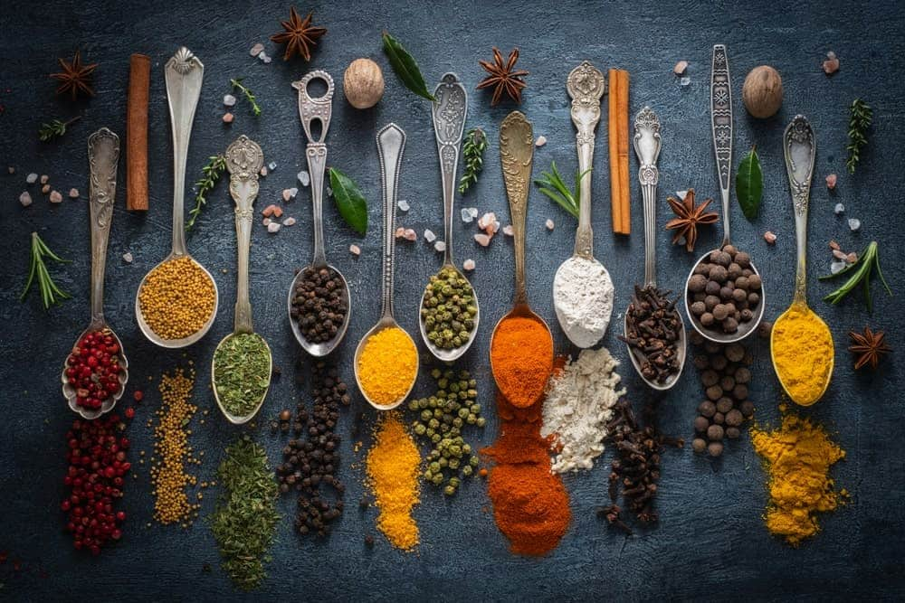 A look at various herbs and spices.