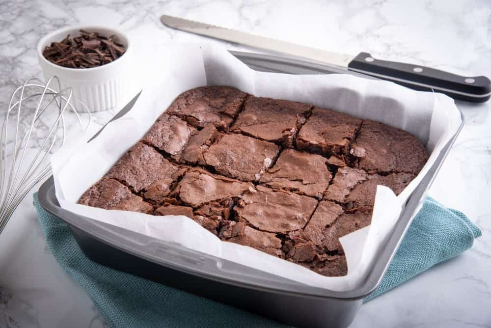 How to Make Chewy Brownies from a Cake Mix