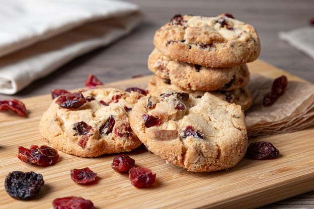 Cranberry and Chocolate Cookies